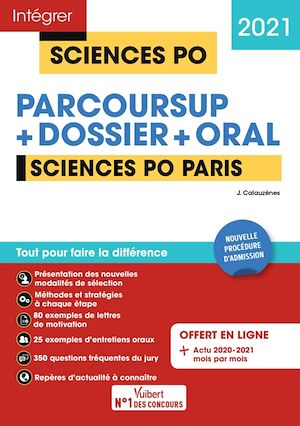 Téléchargez le livre :  Sciences Po Paris - Tout-en-un - Nouvelle procédure d'admission : Parcoursup, Dossier et oral