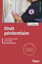 Téléchargez le livre :  Droit pénitentiaire 2019/2020