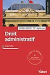Télécharger le livre :  Droit administratif 2020/2021