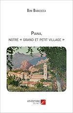 Téléchargez le livre :  Piana, notre « grand et petit village »