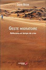 Download this eBook Geste migratoire