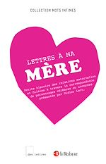 Download this eBook Lettres à ma mère