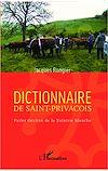Télécharger le livre :  Dictionnaire de saint-privaçois