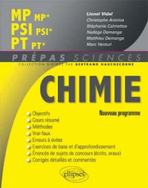 Téléchargez le livre :  Chimie MP/MP* PSI/PSI* PT/PT* - nouveau programme 2014