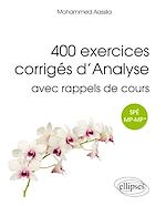 Téléchargez le livre :  400 exercices corrigés d'analyse avec rappels de cours pour Spé MP-MP*
