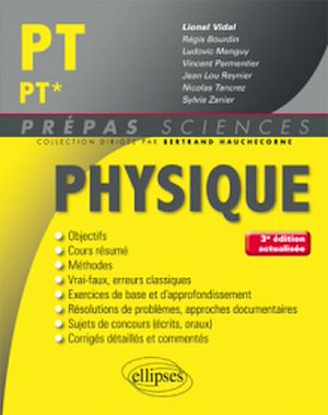 Téléchargez le livre :  Physique PT/PT* - 3e édition actualisée