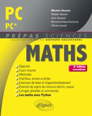 Téléchargez le livre :  Mathématiques PC/PC* - 3e édition actualisée