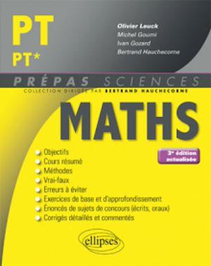 Téléchargez le livre :  Mathématiques PT/PT* - 3e édition actualisée