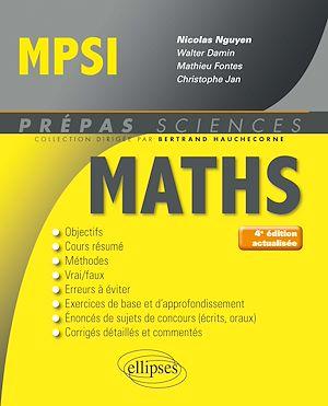 Téléchargez le livre :  Mathématiques MPSI - 4e édition actualisée