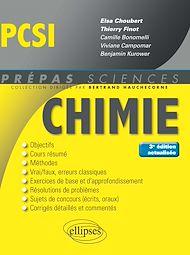 Téléchargez le livre :  Chimie PCSI - 3e édition actualisée
