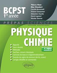 Téléchargez le livre :  Physique-chimie BCPST-1 - 2e édition actualisée