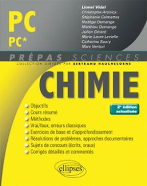 Téléchargez le livre :  Chimie PC/PC* - 2e édition actualisée