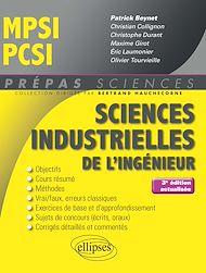 Téléchargez le livre :  Sciences industrielles de l'ingénieur MPSI - PCSI - 3e édition actualisée