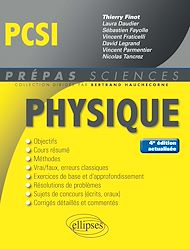 Téléchargez le livre :  Physique PCSI - 4e édition actualisée