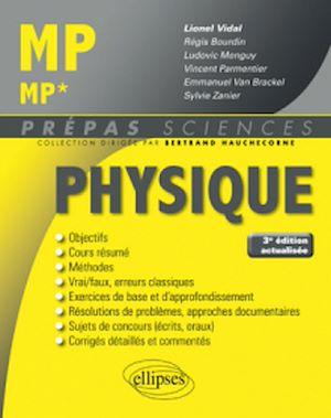 Téléchargez le livre :  Physique MP/MP* - 3e édition actualisée