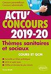 Télécharger le livre :  Thèmes sanitaires et sociaux - concours 2019-2020