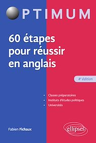Téléchargez le livre :  60 étapes pour réussir en anglais - 4e édition