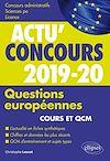 Télécharger le livre :  Questions européennes - concours 2019-2020