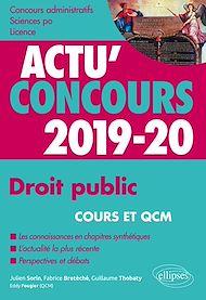Téléchargez le livre :  Droit public - concours 2019-2020