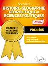 Télécharger le livre :  Spécialité Histoire-géographie, géopolitique et sciences politiques - Première - Nouveaux programmes