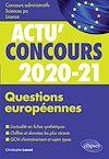 Télécharger le livre :  Questions européennes 2020-2021 - Cours et QCM