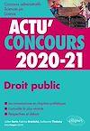 Télécharger le livre :  Droit public 2020-2021 - Cours et QCM