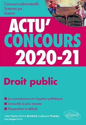 Téléchargez le livre :  Droit public 2020-2021 - Cours et QCM