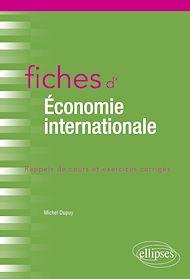 Téléchargez le livre :  Fiches d'économie internationale