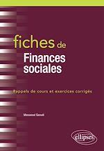 Téléchargez le livre :  Fiches de Finances sociales
