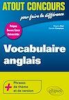 Télécharger le livre :  Vocabulaire anglais