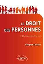 Téléchargez le livre :  Droit des personnes - 2e édition mise à jour et augmentée