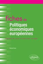 Téléchargez le livre :  Fiches de Politiques économiques européennes