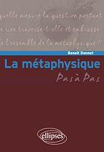 Download this eBook La métaphysique