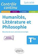 Téléchargez le livre :  Spécialité Humanités, Littérature et Philosophie - Terminale - Nouveaux programmes