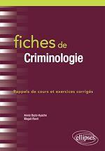Download this eBook Fiches de Criminologie