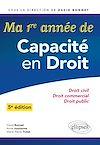 Télécharger le livre :  Ma première année de Capacité en Droit. Droit civil - Droit commercial - Droit public - 5e édition