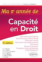 Download this eBook Ma deuxième année de Capacité en Droit- 5e édition