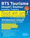 Télécharger le livre :  BTS Tourisme. Réceptif / Émetteur. Incoming / Outgoing - 2e édition