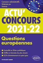 Download this eBook Questions européennes 2021-2022 - Cours et QCM