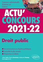 Download this eBook Droit public 2021-2022 - Cours et QCM
