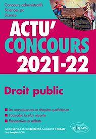 Téléchargez le livre :  Droit public 2021-2022 - Cours et QCM