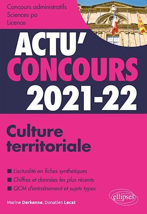 Téléchargez le livre :  Culture territoriale 2021-2022 - Cours et QCM