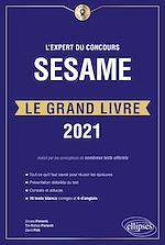 Download this eBook L'Expert du concours SESAME - Le Grand Livre - Édition 2021