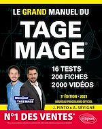 Download this eBook Le Grand Manuel du TAGE MAGE – N°1 DES VENTES – 16 tests blancs + 200 fiches de cours + 2000 vidéos – Édition 2021