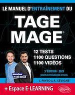 Download this eBook Le Manuel d'Entraînement du TAGE MAGE – 12 tests blancs + 1100 questions + 1100 vidéos – Édition 2021