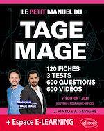 Download this eBook Le Petit Manuel du TAGE MAGE – 3 tests blancs + 120 fiches de cours + 600 questions + 600 vidéos – Édition 2021