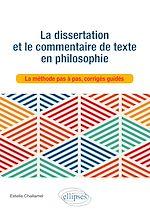 Téléchargez le livre :  La dissertation et le commentaire de texte en philosophie
