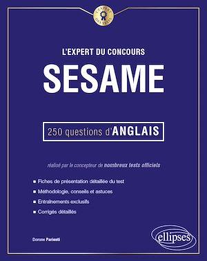 Téléchargez le livre :  L'Expert du concours SESAME - 250 questions d'anglais