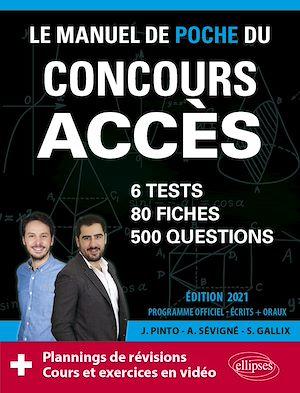 Téléchargez le livre :  Le Manuel de POCHE du concours ACCES (écrits + oraux) Edition 2021 - 80 fiches, 80 vidéos de cours, 6 tests, 500 questions + corrigés en vidéo