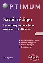 Download this eBook Savoir rédiger. Les techniques pour écrire avec clarté et efficacité